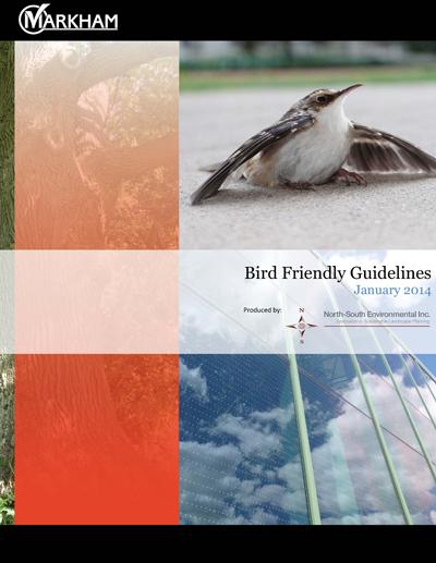 Markham Bird Friendly Guidelines
