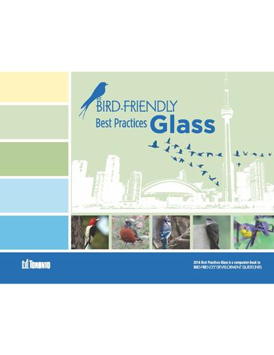 Toronto Bird-Friendly Best Practices Glass